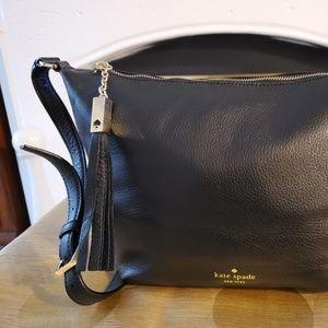 kate spade Authentic Black Premium Leather Handbag